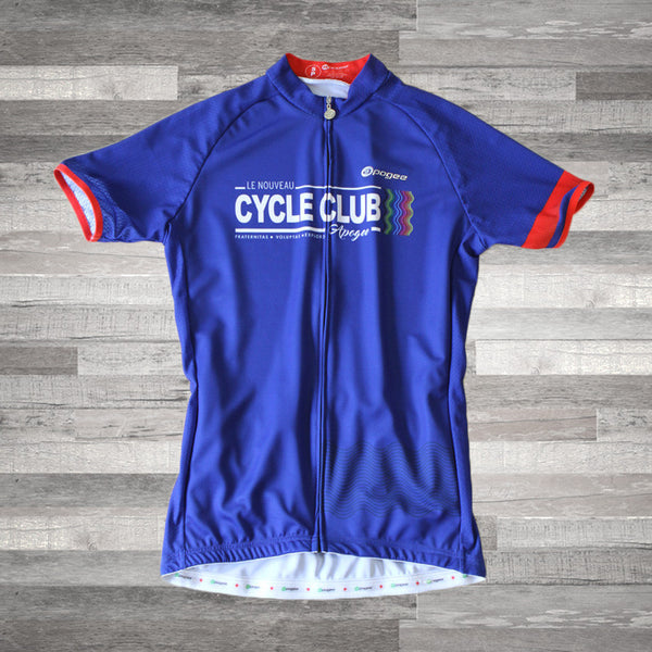 APOGEE CYCLE CLUB :: ROYAL-UNISEXE .. APOGEE CYCLE CLUB :: UNISEX ROYAL JERSEY
