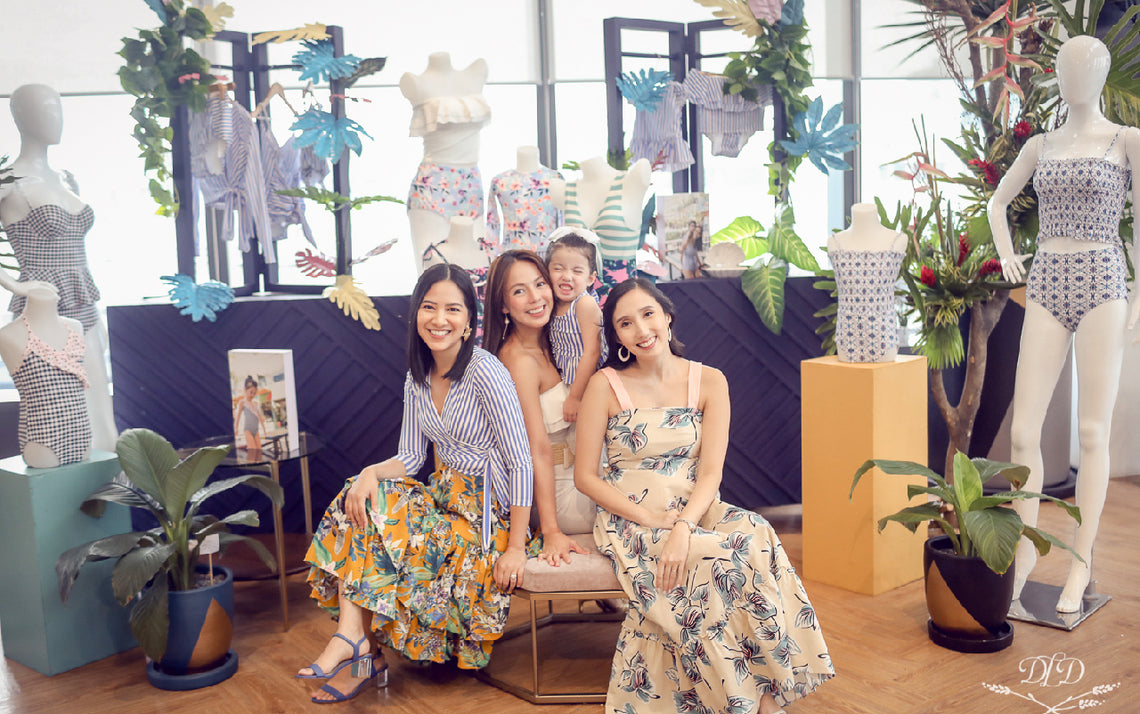 Andi Manzano Launches Second Mommy-and-Me Collection with Coral Swimwear