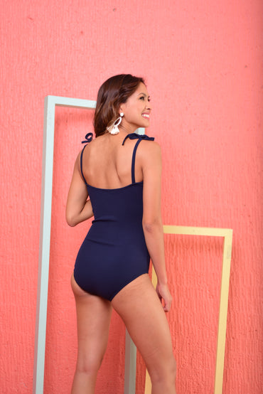 PAIGE Swimsuit (Navy) - 10%OFF
