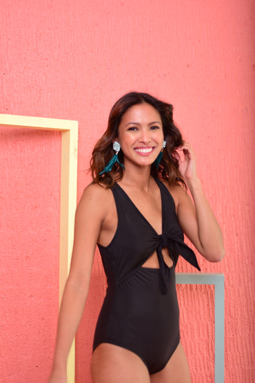 QUINN Swimsuit (Black) - 10%OFF