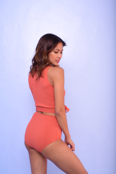 BROOKE Two Piece (Rust) - 10%OFF