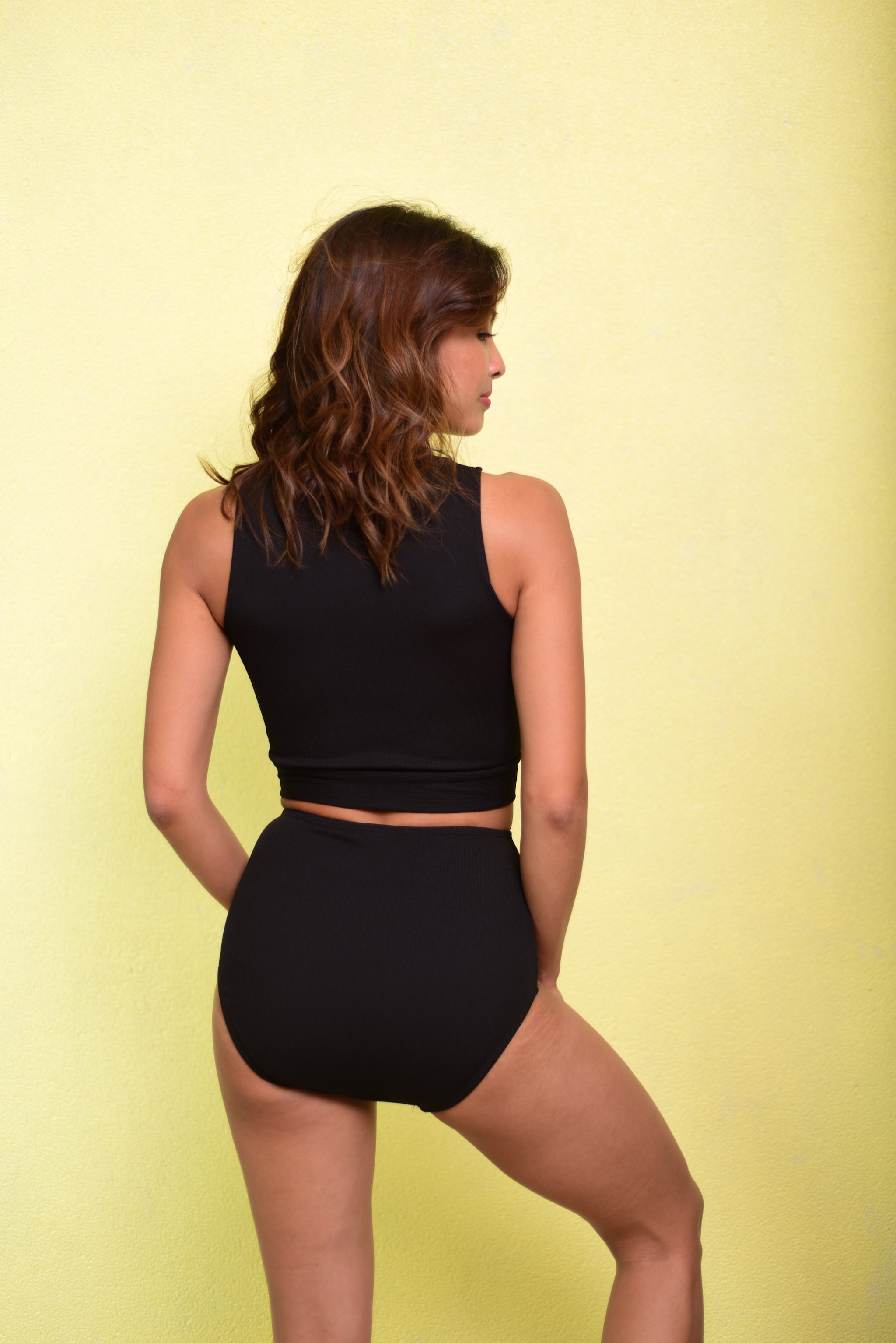 BROOKE Two Piece (Black)