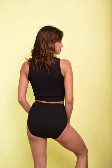 BROOKE Two Piece (Black) - 10%OFF