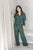 DENISE Emerald Green Pants Set