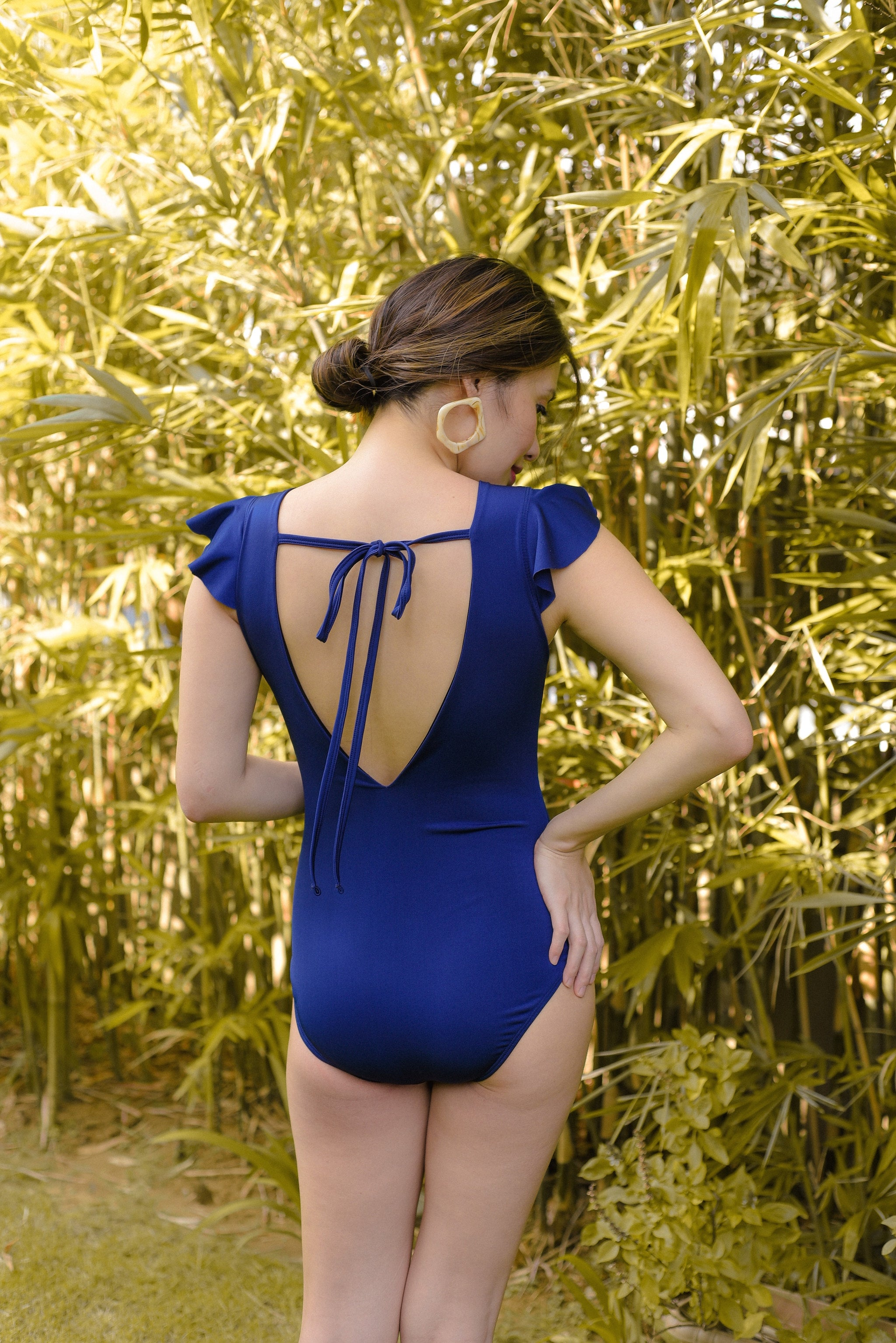 AVA Swimsuit (Navy Blue)