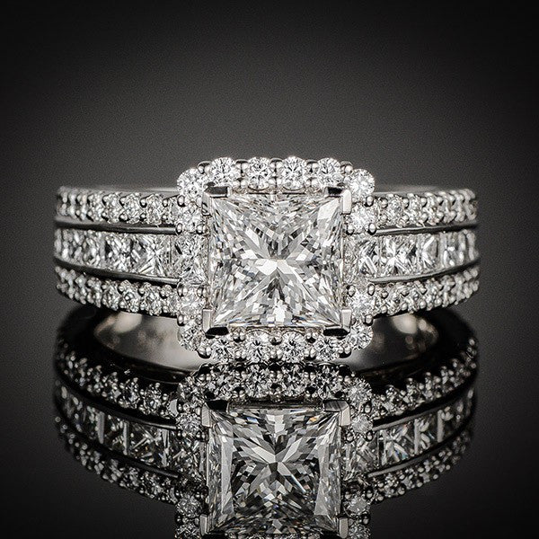 "<span class=""subtitlerp"">Passion Collection</span><br /><br />Platinum 1.41ctw Diamond Engagement Ring Setting"