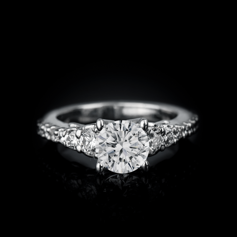 "<span class=""subtitlerp"">Timeless Collection</span><br /><br />Platinum .72ctw Diamond Engagement Ring Setting"