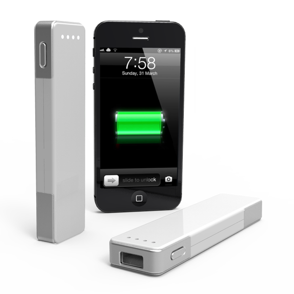 PowerStick III with iPhone