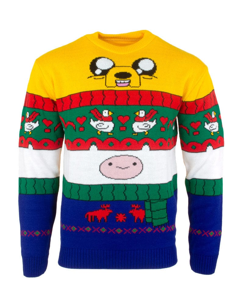 Official Adventure Time Finn & Jake Christmas Jumper / Ugly Sweater