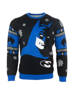 Official Batman In The Shadows Christmas Jumper / Ugly Sweater