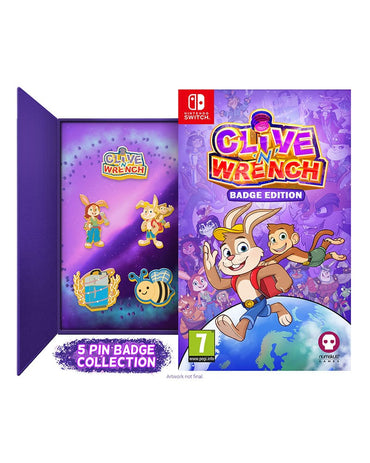 Clive 'n' Wrench Badge Edition (Nintendo Switch)