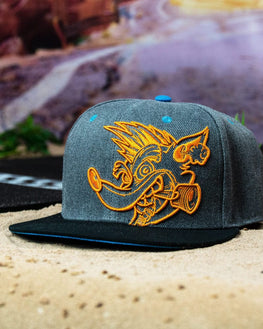Official Crash Team Racing Nitro-Fueled Face Snapback