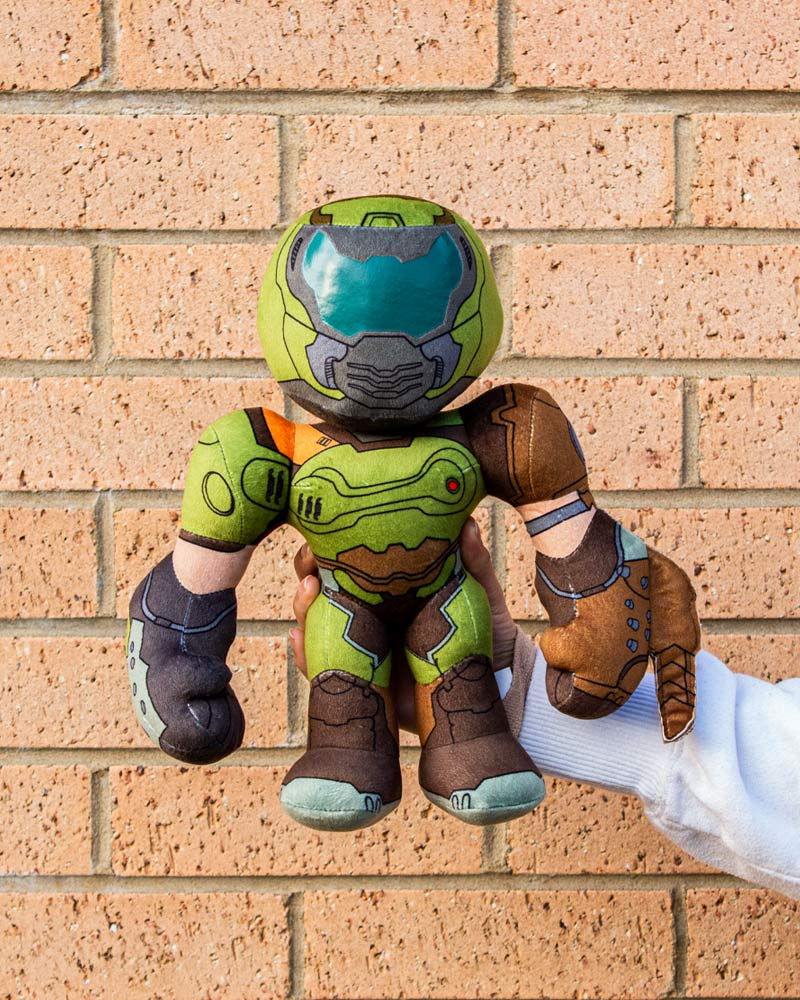 Official DOOM Slayer 12 Inch Plush / Plushie