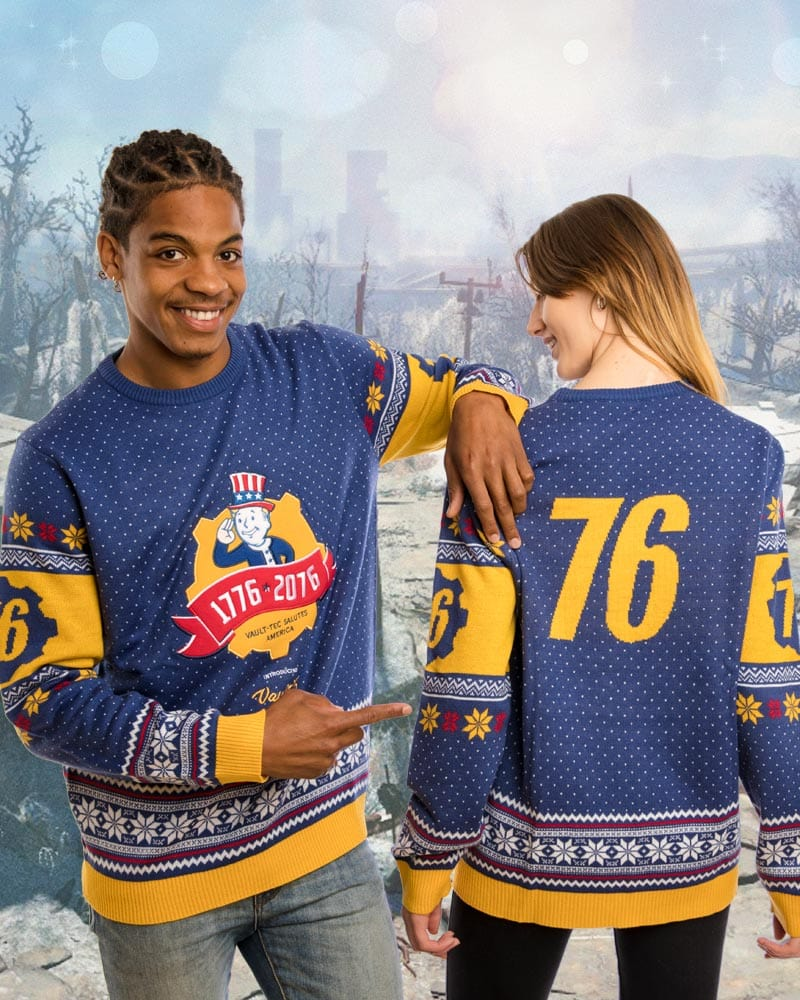 Official Fallout 76 Christmas Jumper / Ugly Sweater