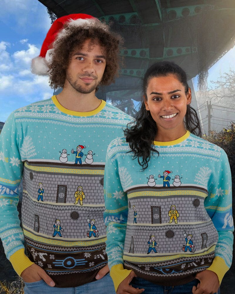 Official Fallout Vault Christmas Jumper / Ugly Sweater