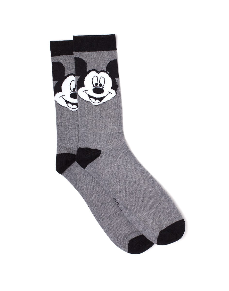 Official Mickey Mouse Big Face Socks - UK 10-12/US 11-13