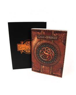 Official Game of Thrones Fire and Blood Small Notebook / Journal