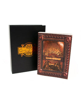 Official Game of Thrones Iron Throne Small Notebook / Journal