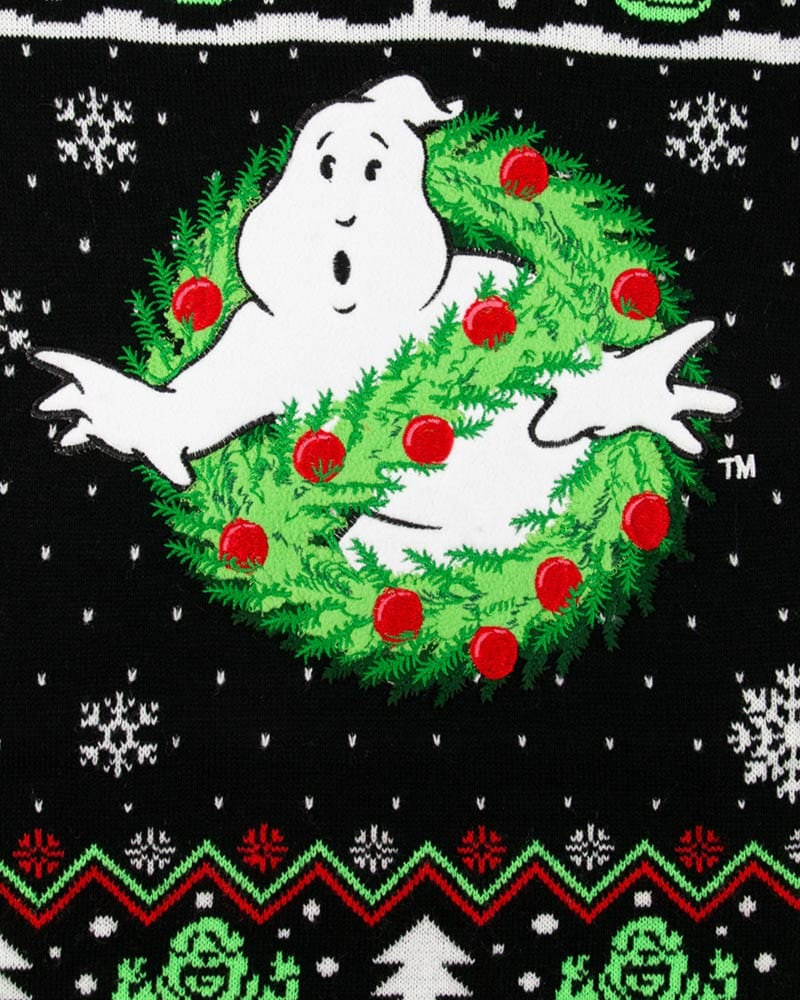 Official Ghostbusters Christmas Jumper / Ugly Sweater