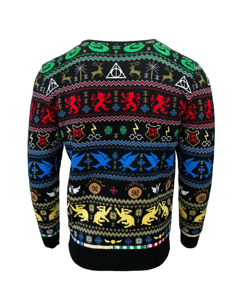 Official Harry Potter Houses Christmas Jumper / Ugly Sweater