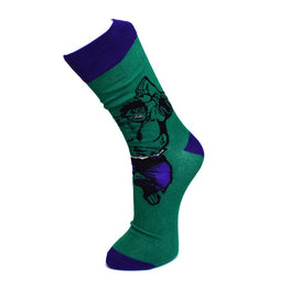 Official Marvel Hulk Smash Socks