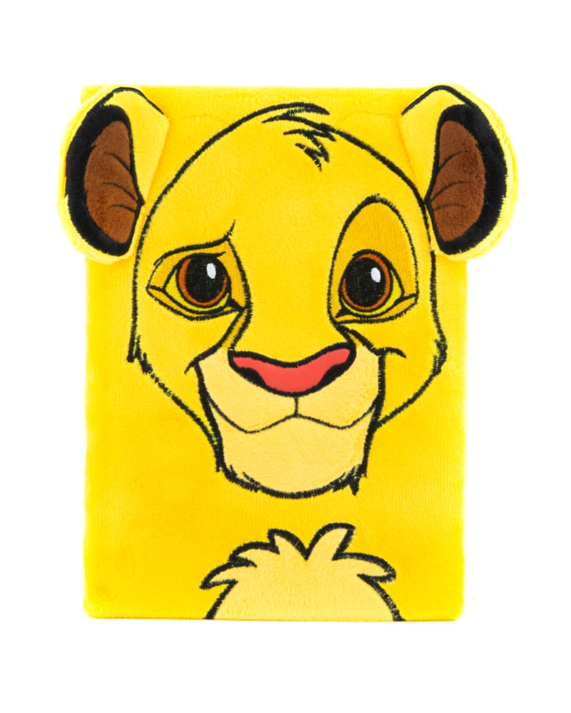 Official The Lion King Furry Simba Premium A5 Notebook