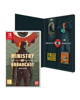 Ministry of Broadcast Badge Edition (Nintendo Switch)