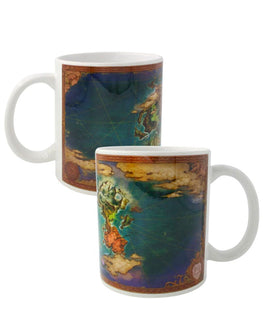 Official Ni No Kuni II World Map Mug
