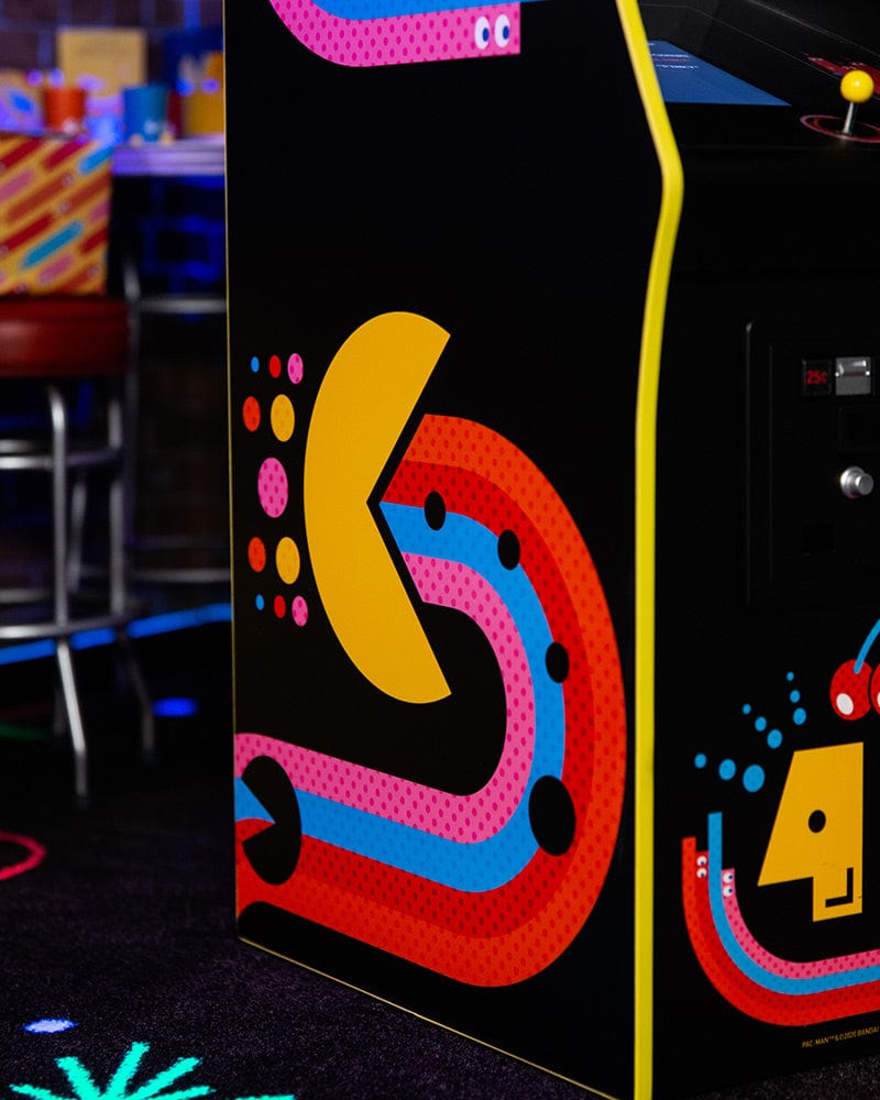 Official Pac-Man 40th Anniversary Quarter Arcade Signed by Toru Iwatani