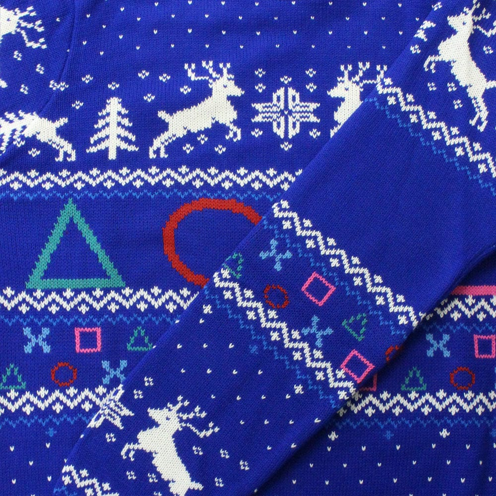 Official PlayStation Symbols Christmas Jumper / Ugly Sweater