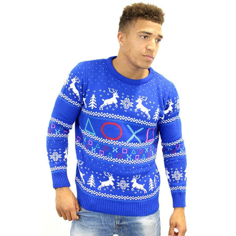 PlayStation Official Symbols Christmas Jumper / Sweater