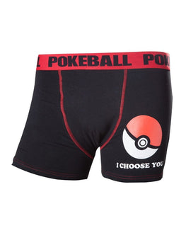 Official Pokémon 'I Choose You' Poké Ball Boxer Shorts