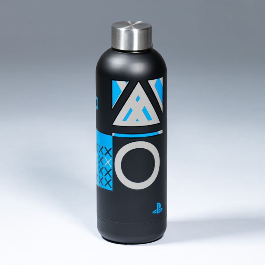 Official PlayStation Core Metal Water Bottle