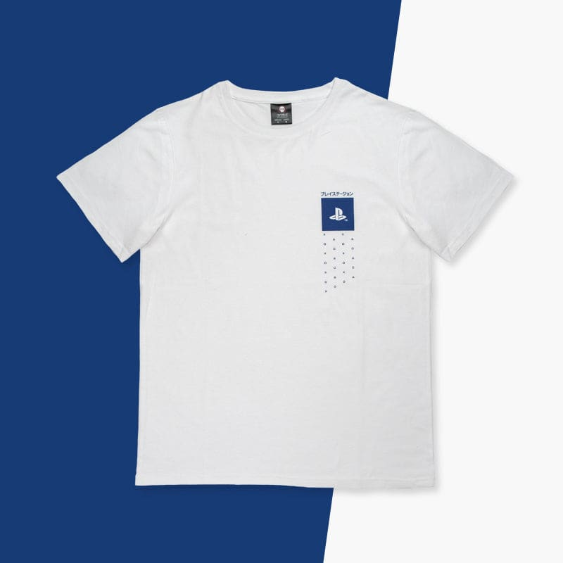 Official PlayStation Japanese Inspired T-Shirt - XS