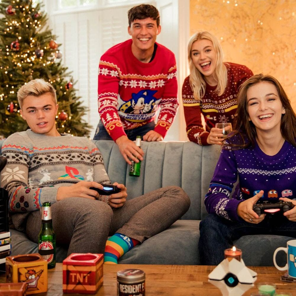 Official PlayStation Console Christmas Jumper / Ugly Sweater