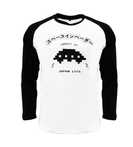 Official Space Invaders UFO Raglan T-Shirt