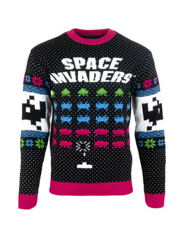 Official Space Invaders Christmas Jumper / Ugly Sweater