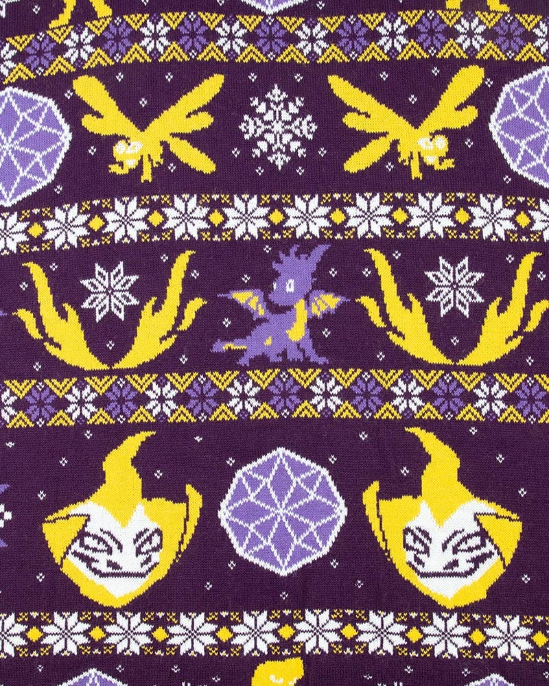 Official Spyro the Dragon Fairisle Christmas Jumper / Ugly Sweater