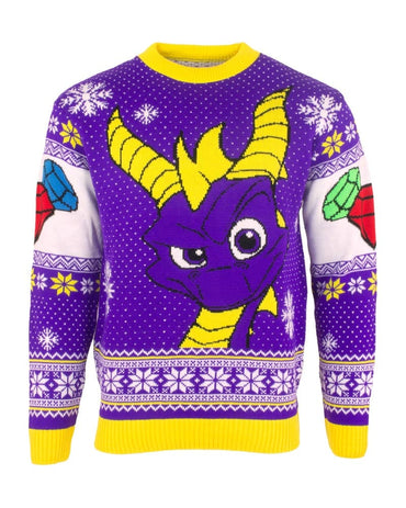 Official Spyro the Dragon Christmas Jumper / Ugly Sweater