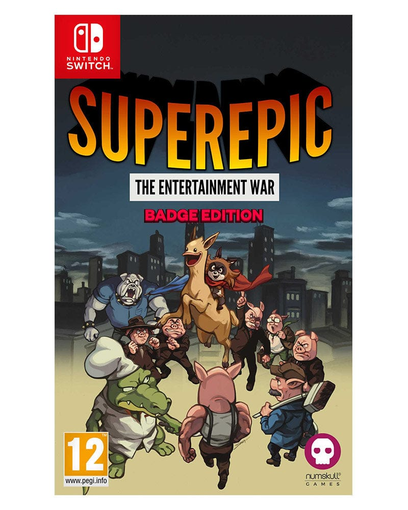 Nintendo Switch - SuperEpic: The Entertainment War Badge Edition