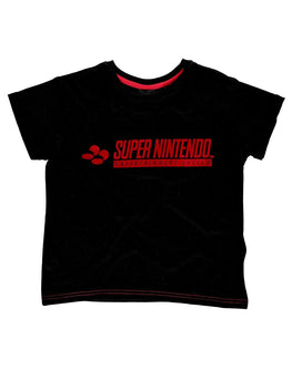 Official Super Nintendo Women Cropped T-shirt