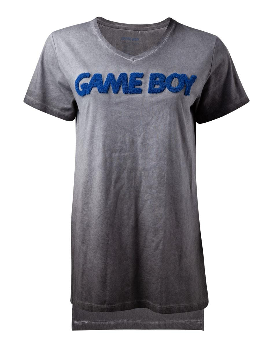 Official Nintendo GameBoy Raised Logo Women's T-Shirt