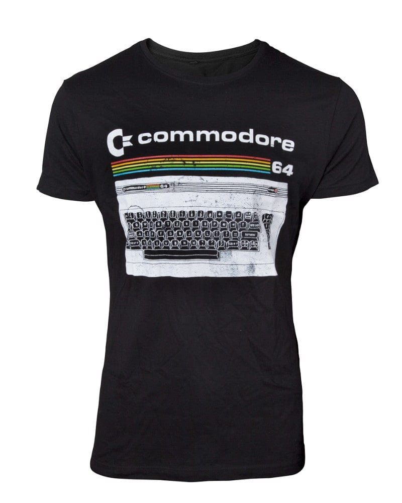 Official Commodore 64 Classic Keyboard Men's T-Shirt