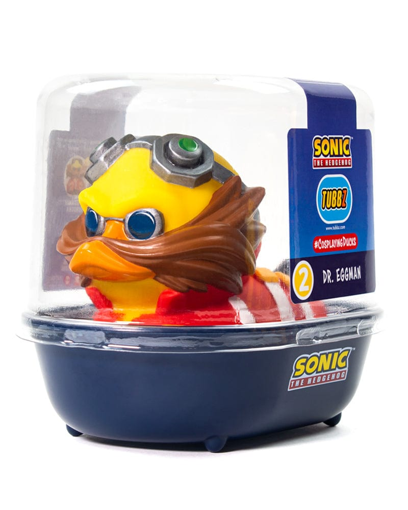 Sonic The Hedgehog Dr Eggman Tubbz Collectible Duck Geek Store
