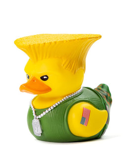 Street Fighter Guile TUBBZ Collectible Duck