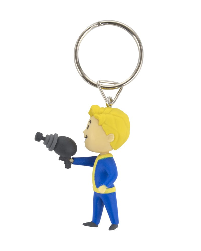 Official Fallout Vault Boy Energy Weapon Keyring / Keychain