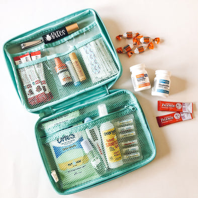 Travel Tip: pack a first aid bag