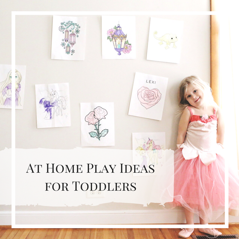 At Home Play - 5 Fun Ways to Pass the Day with Toddlers