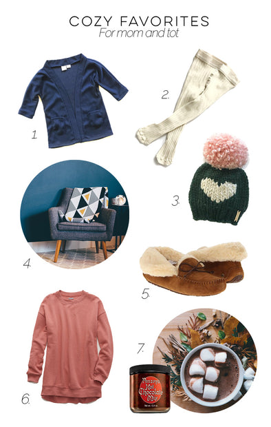 Cozy Favorites for Mom and Tot