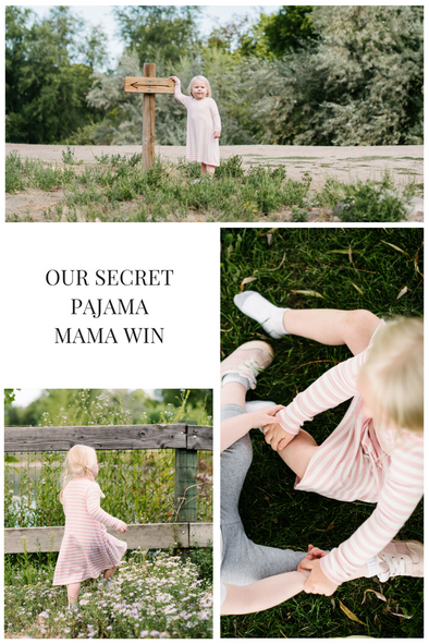 Secret Pajamas - Mom Win